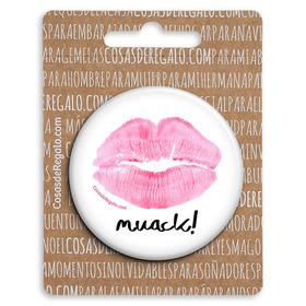 Espejo de bolsillo original de 5.8cm El tic de tus besos