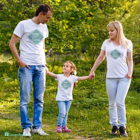 Pack camiseta doble Juntos viviremos nuestros propios cuentos