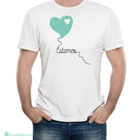 Camiseta original Estamos para hombre
