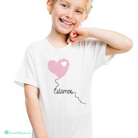 Camiseta original Estamos infantil