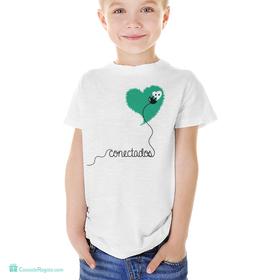 Camiseta original Conectados infantil