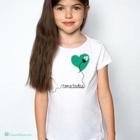 Camiseta original Conectadas infantil