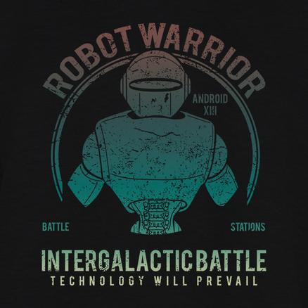 Sudadera Robot Warrior para hombre