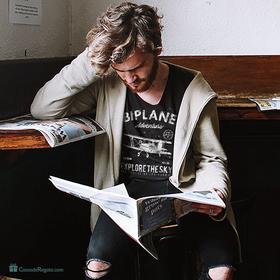 Camiseta Biplane para hombre personalizable