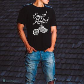 Camiseta Speed addict para hombre