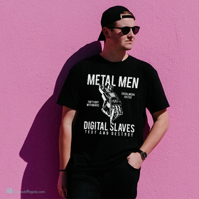 Camiseta Metal men para hombre personalizable