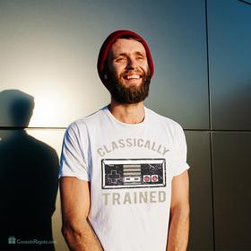 Camiseta Classically trained para hombre