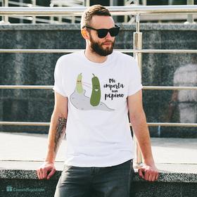 Camiseta original Me importa un pepino para hombre