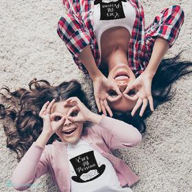 "Pack camisetas madre e hija ""Eres mi persona mágica"""