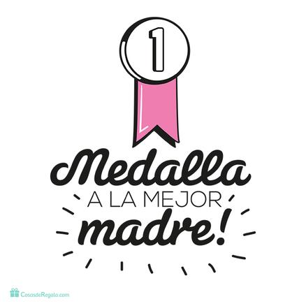 Camiseta Medalla a la mejor madre
