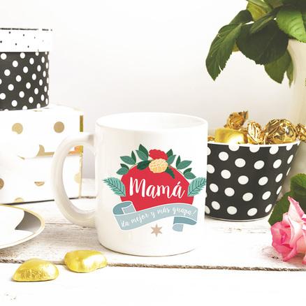 Pack de taza y espejo para la mamá más guapa