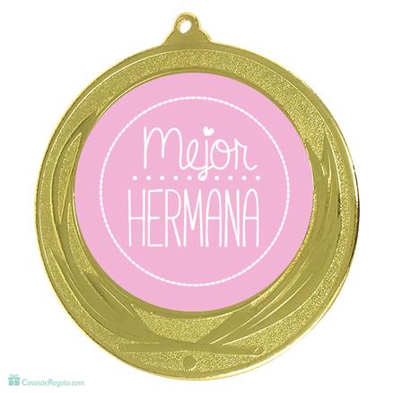 Medalla Mejor hermana