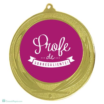 Medalla Mejor profesora