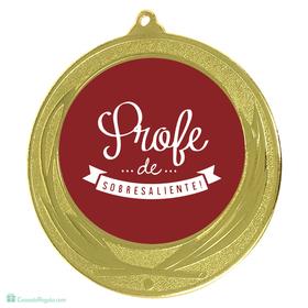 Medalla Mejor profesor