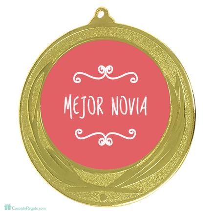 Medalla mejor novia