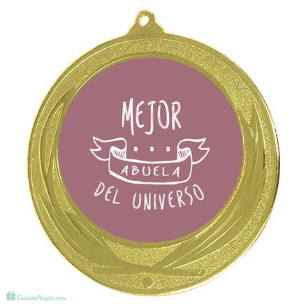 Medalla Mejor abuela del universo