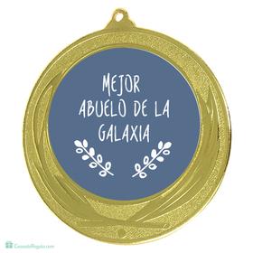 Medalla Mejor abuelo de la galaxia