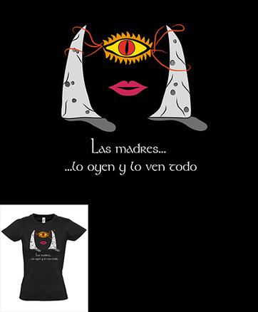 Camiseta original mamá ojo de Mordor
