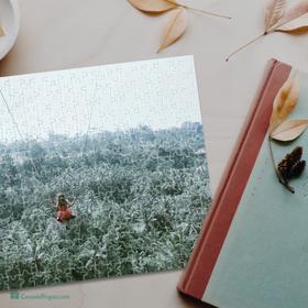 Puzzle de cartón A3 de 360 piezas personalizado con foto