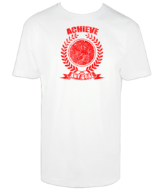 Camiseta hombre Achieve any goal personalizable