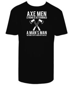 Camiseta hombre Axe Man personalizable