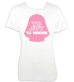 Camiseta mujer Yo soy tu madre personalizada