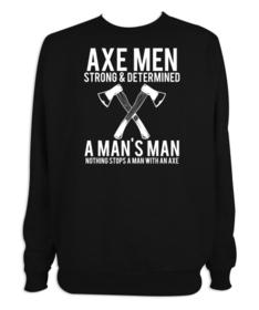 Sudadera hombre Axe Men personalizable