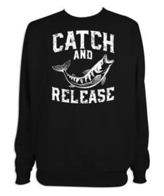 Sudadera hombre Catch and Release II personalizable