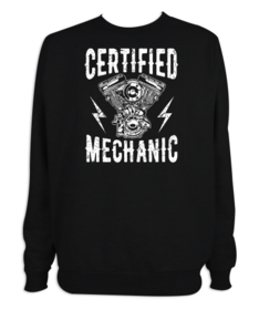 Sudadera hombre Certified Mechanic