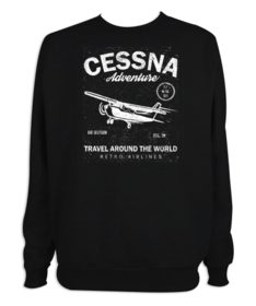 Sudadera hombre Cessna Adventure personalizable