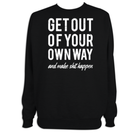 Sudadera hombre Your Own Way personalizable