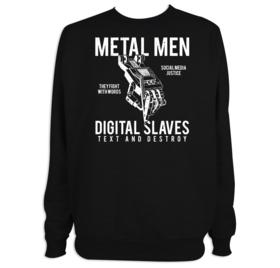 Sudadera Metal men para hombre personalizable