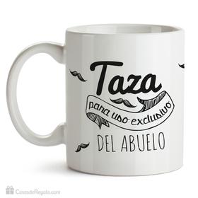 Taza personalizada Uso exclusivo bigotes