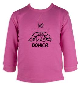Sudadera bebé Bonica personalizable