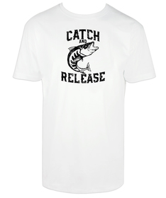 Camiseta hombre Catch and Release personalizable