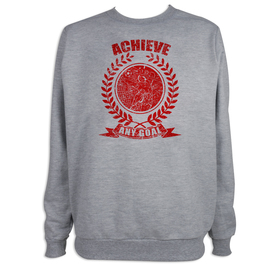 Sudadera hombre Achieve any goal personalizable