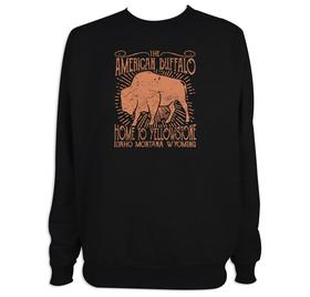Sudadera hombre American buffalo personalizable