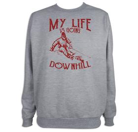 Sudadera hombre Downhill personalizable