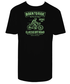 Camiseta hombre Born to Ride personalizable