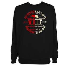 Sudadera hombre Wolf personalizable