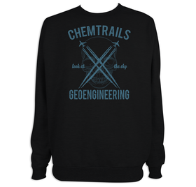 Sudadera hombre Chemtrails personalizable