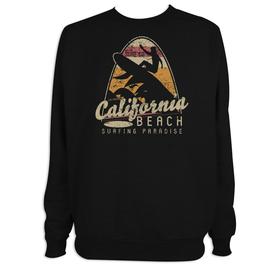 Sudadera hombre California Beach personalizable