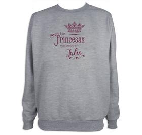 Sudadera deportiva Princesas personalizada para mujer