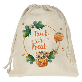 Bolsa caramelos personalizada Halloween Trick or Treat