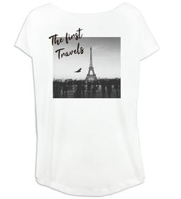 Camiseta mujer amplia personalizada con imagen y texto