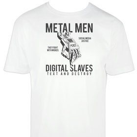 Camiseta Metal men para hombre personalizable