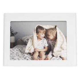 Marco de fotos Odyssey personalizado con 1 foto 13x18 de color blanco