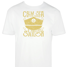 Camiseta hombre Calm Sea personalizable