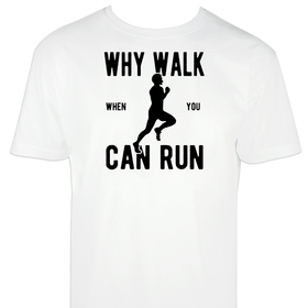 Camiseta hombre Can Run personalizable