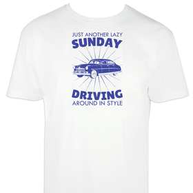 Camiseta hombre Sunday Driving personalizable